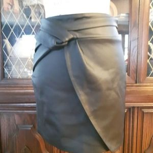 Size 2 black mini Skirt New GXF Collection